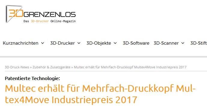 3D-Grenzenlos berichtet über Multec