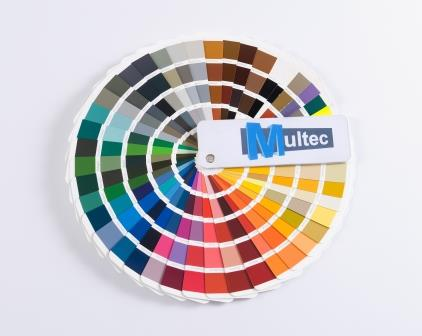 RAL colors PLA filament from Multec production