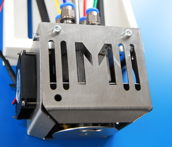 World innovation in the field of FDM extrusion: Four-color extruder with ooze prevention