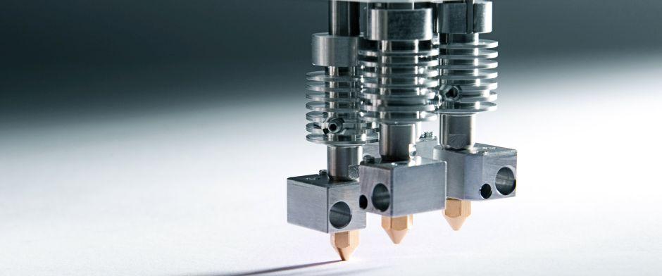 4-Fach-Druckkopf für industriellen Einsatz