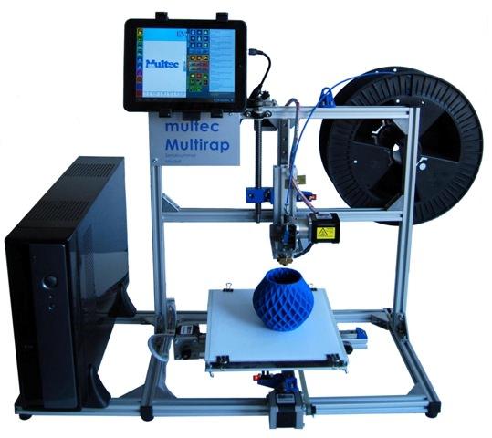Multirap M400 Touch Stand-Alone Großraum 3D-Drucker