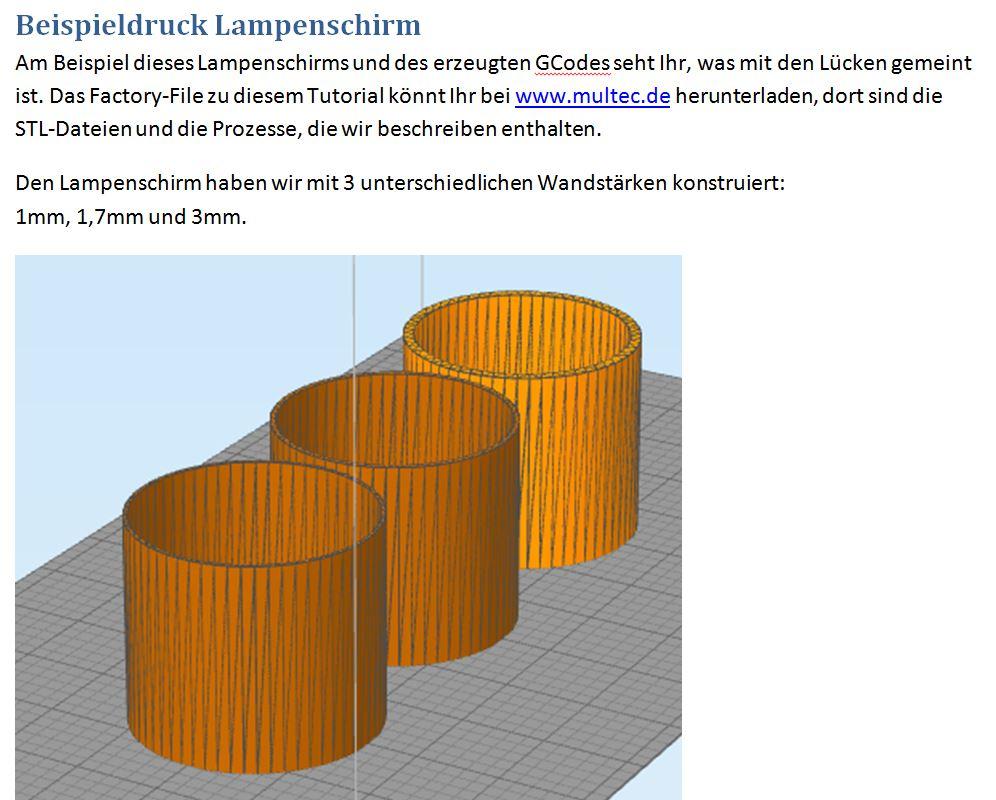 3D-Druck-Anleitung für dünnwandige Teile: Druckoptimierung von Multec