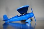 komplettes 3D-Modell vom Flugzeug zum Download