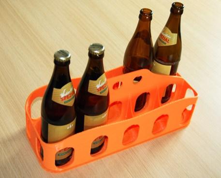 Flaschenkorb für 10 Flaschen