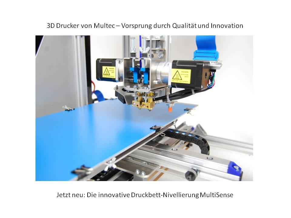 Multirap - der mitwachsende 3D-Drucker